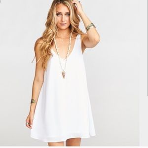 Show me your mumu samantha white dress